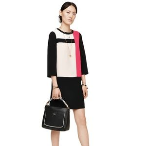 Kate Spade Colorblock Shift Dress NWT